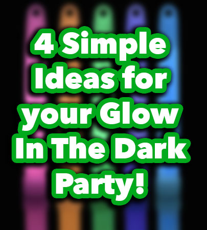 Food Ideas For A Glow Party